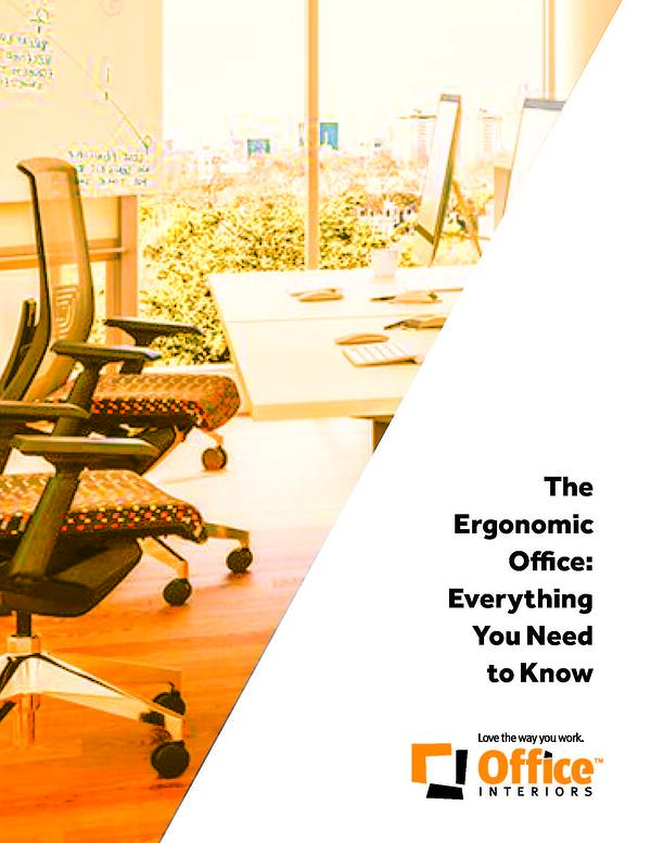 Office Ergonomics: What it is, Why it  Matters, & What You Can Do About It!